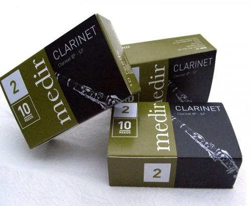 Anche Medir Clarinette Basse - Dureté  2.5
